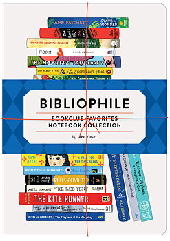 Bibliophile : Bookclub Favorites Notebook Collection : Set med 3 skrivhäften