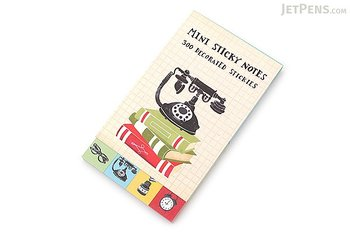 Vintage Telephone : Mini sticky notes
