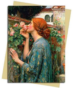 Waterhouse Soul of a Rose : Kort med kuvert