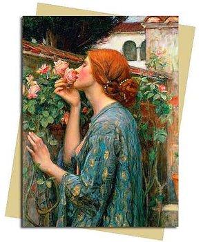 Waterhouse Soul of a Rose : Kort med kuvert