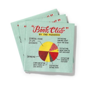 Book Club : Cocktail Napkins
