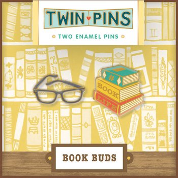Twin Pins : Book Buds