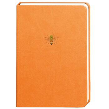 Bee Notebook : skrivbok med 300 linjerade sidor