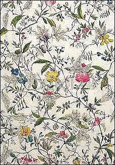 William Kilburn : Wild Flowers Design for Silk 1790s - Kort med kuvert