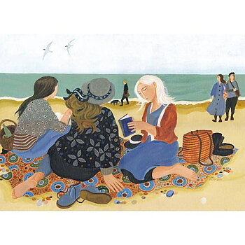 Dee Nickerson : The Book Club - Kort med kuvert