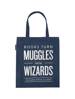 Books turns Muggles into Wizards : Tote bag