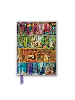 Aimee Stewart : A stitch in time Bookshelves  - Skrivbok A6