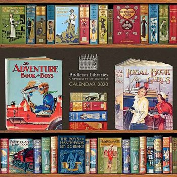Bodleian Library : Book Covers Wall Calendar 2020