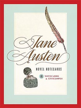 Jane Austen : 16 Novel notecards & envelopes