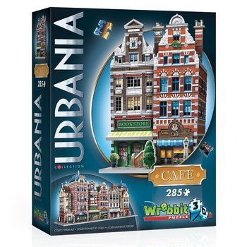 Urbania Collection : Bokhandel & café - 3D-pussel
