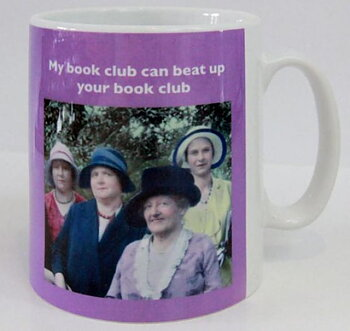 My book club can beat up your book club : Mugg