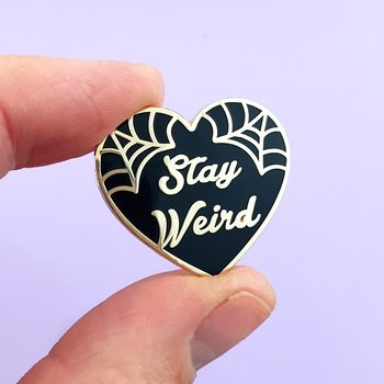 Stay wierd : Enamel Pin