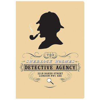 Sherlock Holmes Notebook - Skrivhäfte Mini linjerat och med faktasidor