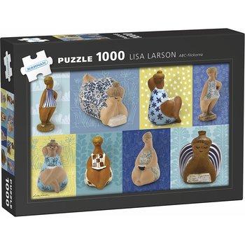 Lisa Larson : ABC-flickorna pussel 1000 bitar