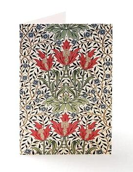William Morris : Bourne  Kort med kuvert