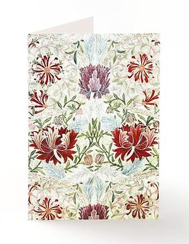 William Morris : Honeysuckle Embroidery  Kort med kuvert