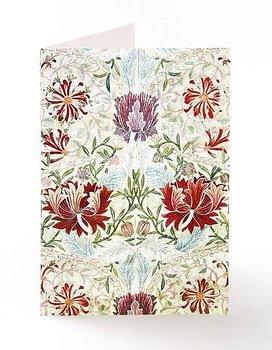 William Morris : Honeysuckle Embroidery  Kort med kuvert