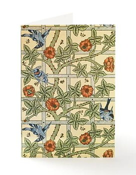 William Morris : Trellis Kort med kuvert