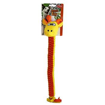 Hundleksak flätad giraff