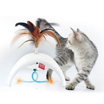 Kattlek Feather Spinner Pet Droid