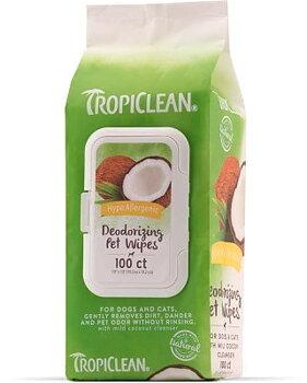 Tropiclean HYPO ALLERGENIC wipes