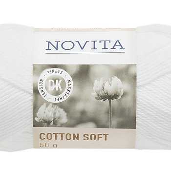 Cotton Soft 011 Vit
