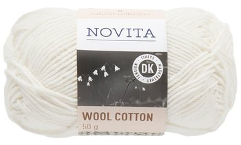 Novita Wool Cotton Naturvit 010