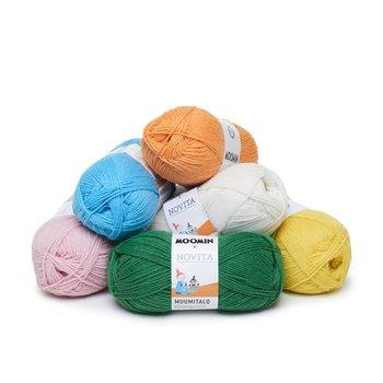 Muminhuset Paket 1/2 kg med 10 färger
