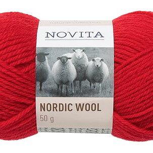 Nordic Wool 549 Julröd