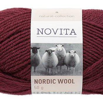 Nordic Wool 590 Mörk Rubin