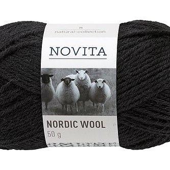 Nordic Wool 099 Svart