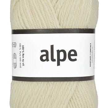 Alpe 36116 Vanilla White