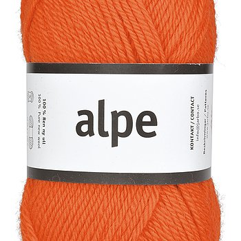 Alpe 36101 Poppy Orange