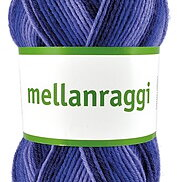 Mellanraggi 28354 Purple print