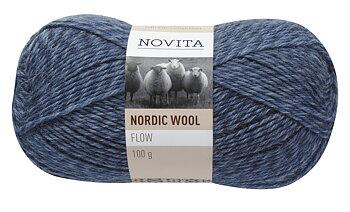 Nordic Wool Flow 012 OBS! 100 g (Utgående garn)