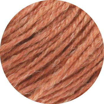 Slow Wool Lino - 25 Ljus terracotta