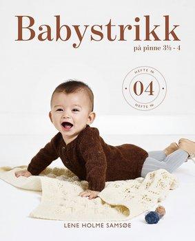 Babystrikk på Pinne 3½ - 4, nr. 04 Norska
