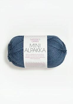 Mini Alpakka - 6052 Jeansblå