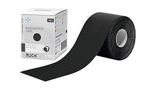 RUCK® FÖRBANDSMATERIAL Kinesiologitejp svart, 5 cm x 5 m, 1 rulle