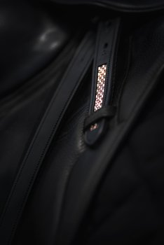 Stirrup Leathers with Swarovski Rosé