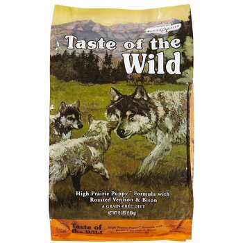 Taste of the Wild High Prairie Puppy Formula (12 säckar fraktfritt)