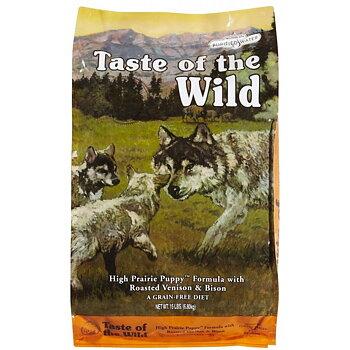 Taste of the Wild High Prairie Puppy Formula (12 säckar fraktfritt)