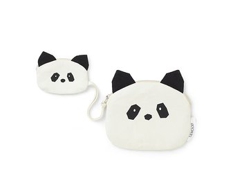 Ekologisk plånbok Oscar (Panda) / Liewood