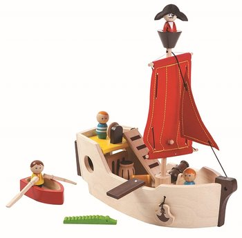 Piratskepp / Plan Toys