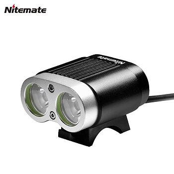 Nitemate T2200 2xCREE XML - 2200 Lm - Cykelstrålkastare