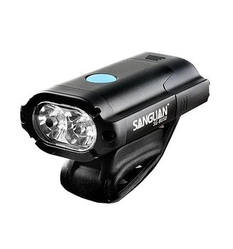 Nitemate BU50 Cykelstrålkastarset - 2xCREE XPG2 USB inkl baklampa - 500 Lm