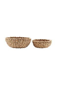 Basket, Bread S: h: 6 cm, dia: 18 cm, L: h: 9 cm, dia: 22 cm