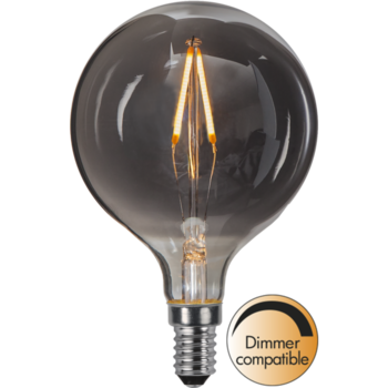 LED-lampa E14 G80 Decoled Smoke