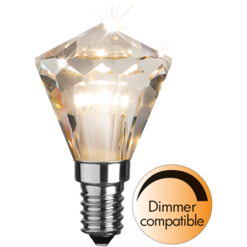 LED-lampa E14 P45 Diamond