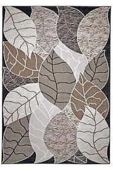 Leaf 160 x 230 grå